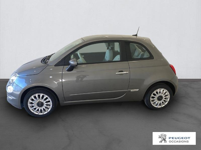 FIAT 500 | 1.0 70ch BSG S&S Lounge occasion - Peugeot Nîmes